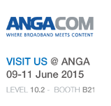 PBN is exhibiting at ANGA COM 2015. June 9-11, Cologne Germany